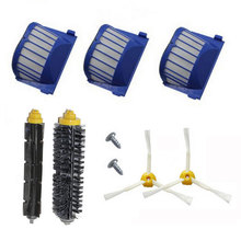 High Quality Hpea Filter Brush kit Screw side brush for iRobot Roomba 600 Series 610 620 630 650 660 Vacuum Cleaner Accessory