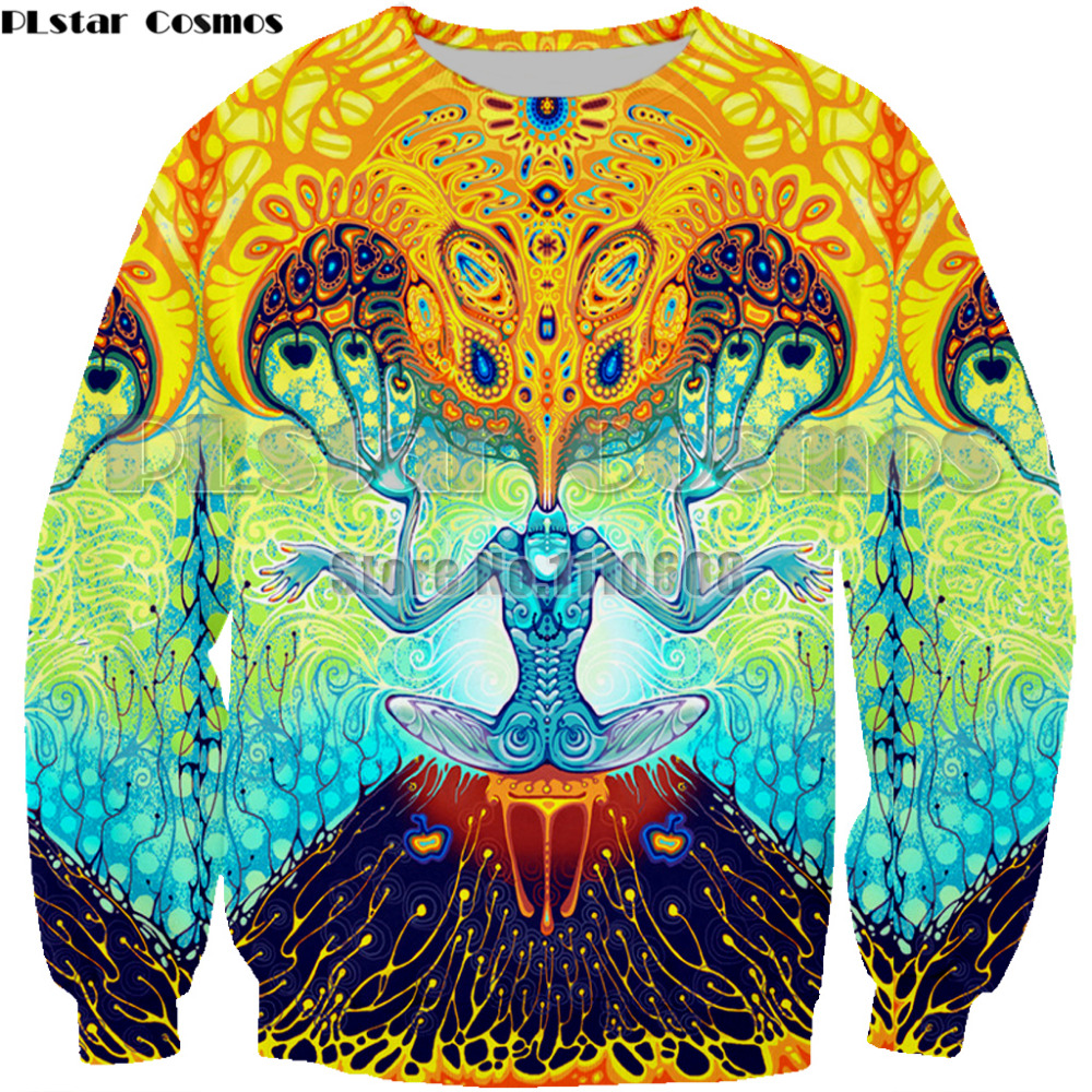 Unisex 3D Novelty Hoodies Green,Floral Artistic Design,Sweatshirts for Women Plus Size