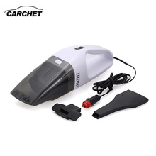 CARCHET Portable Vacuum Cleaner Dry and Wet Dual Use 60W 12V 900mbar Car Vacuum Cleaner With Hepa Filter Universal FREE SHIPPING(China)