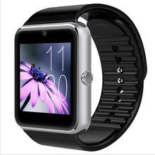 GT08 Fashion Smart Bluetooth Wrist Watch Bluetooth Camera Card Phone For IOS Android Multifunction Smart Watch