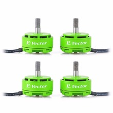 4pcs 2306 Brushless Motor White Green AOKFLY RV Series 2400KV/2650KV For FPV Drone QAV250 Quadcopter Multirotor RC Toys(China)