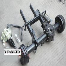 XUANKUN  ATV Karting Three - Wheeled Motorcycle Modified Shaft Drive Differential Rear Axle Suspension