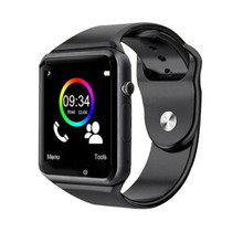 2016 Hot A1 bluetooth smart watch for android phone support SMI/TF men women sport wristwatch