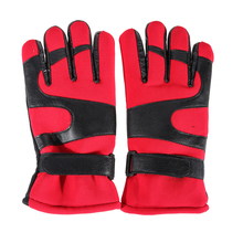 Windproof Waterproof Warm Flannel Skiing Gloves Thermal Cycling Hiking Outdoor Sports Breathable Snow Gloves Ski Snowboard Glove(China)