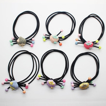 Girl's cute strawberry Elastic Hair Bands Fancy colourful rubber bands ponytail holders fashion hair scrunchies hair accessories(China)