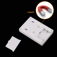 Magnetic LED Night Light Ultra Bright Mini COB Wireless Wall Light with Switch Magic Tape for Camp Lamp Indoor