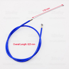 Gas Throttle Cable Blue for 43cc 47c 49cc Super Pocket Mini Moto Dirt Bike ATV Quad Minimoto Motorcycle Motocross