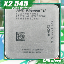 AMD Phenom II  X2 545 CPU Processor  Dual-Core (3.0Ghz/ 6M /80W / 2000GHz) Socket am3 am2+  free shipping 938 pin sell X2 550