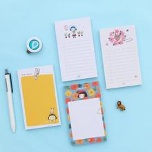 Fresh Good Day Plan List Memo Pad Sticky Notes Escolar Papelaria School Supply Bookmark Post it Label