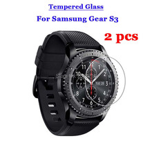 2Pcs/Lot For Samsung Gear S3 Classic Tempered Glass 9H 2.5D Premium Screen Protector Film For Samsung Gear S3 Frontier LTE Watch
