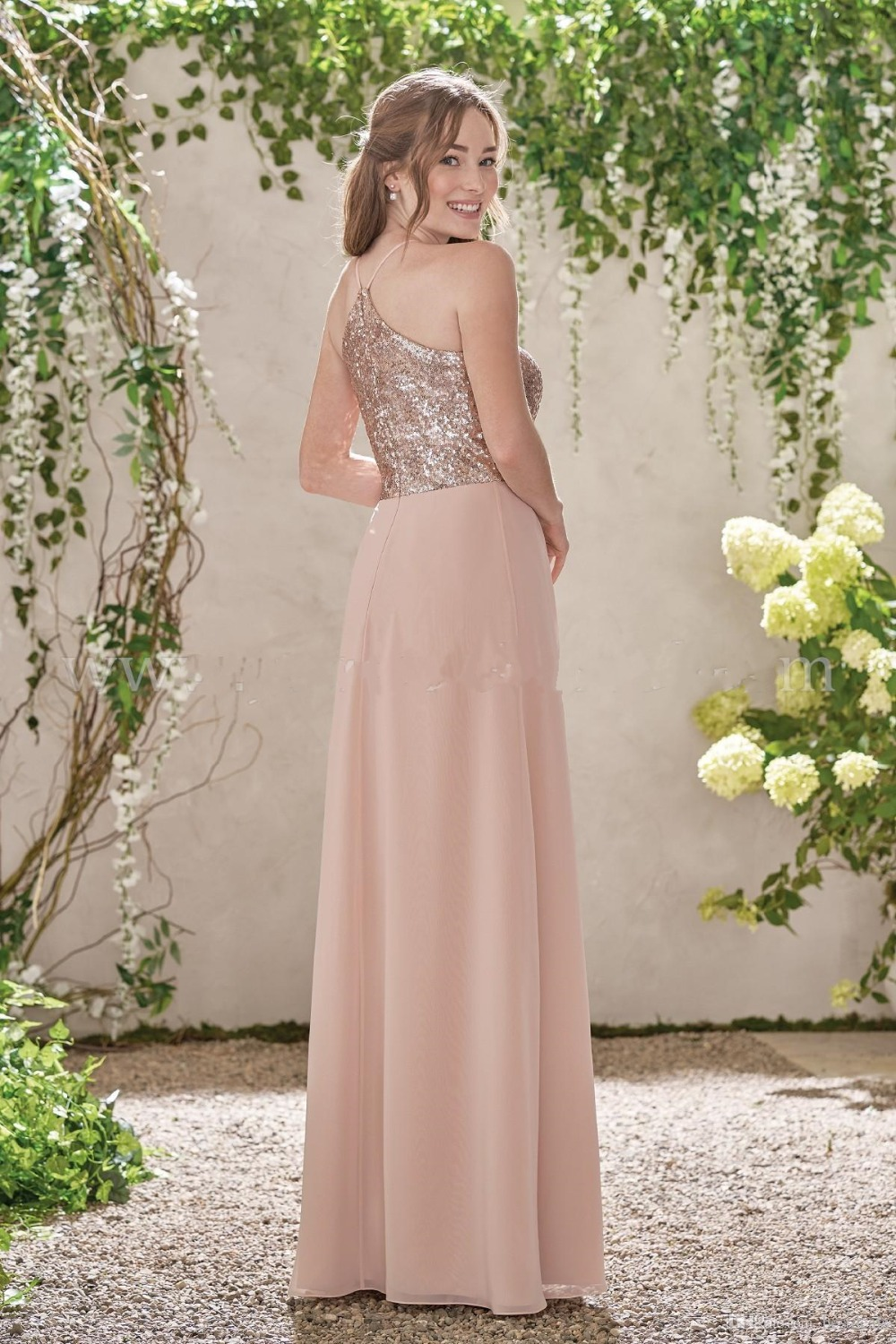 2017-new-rose-gold-bridesmaid-dresses-a-line-spaghetti-backless-sequins-chiffon-cheap-long-beach-wedding-gust-dress-maid-of-honor-gowns (2)