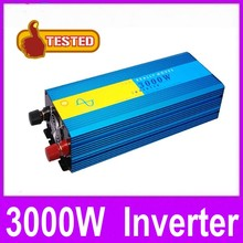 Hote sale wind solar hybrid power inverter , 3000W 48VDC to 110VAC/120VAC/220VAC/230VAC pure sine wave car power inverters(China)