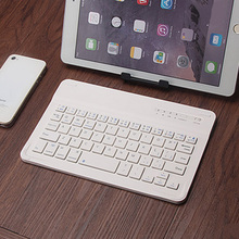 NOYOKERE Brand New Ultra Slim Multimedia Aluminum Wireless Bluetooth Keyboard For IOS Android Tablet PC Windows For iPad mini