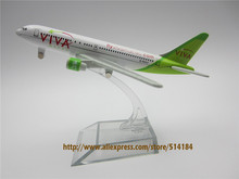 13cm Alloy Metal Air VIVA MACAU Airlines B777 Aircraft Airplane Model Boeing 777 Airways Plane Model w Stand(China)