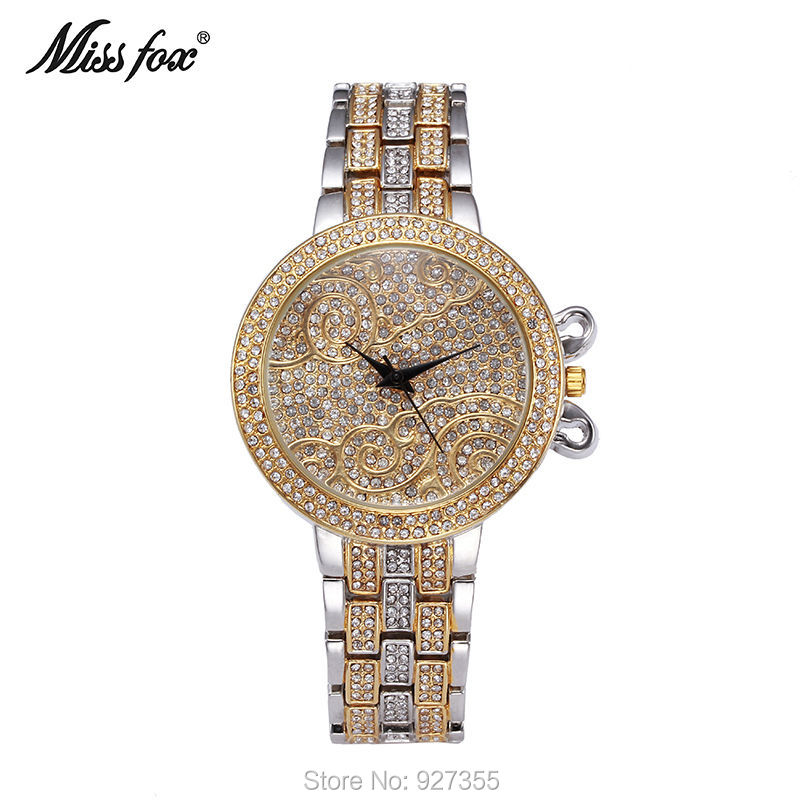 New Style Top Luxury Watches High Quality Women Full Rhinestone Crystal Quartz Watches Lady Swan Dress Wristwatches Hot Sales<br>