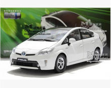NEW TOYOTA PRIUS origin car model 1:18 Hybrid energy car FAW Toyota diecast alloy gift limit collection police Toy hot sale