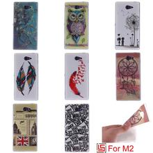 Buy Fashion Ultra Thin TPU Silicone Soft Phone Cell Mobile Case Cover Sony Soni Xperia Experi Xpera M2 D2302 M 2 Dandelion for $4.22 in AliExpress store