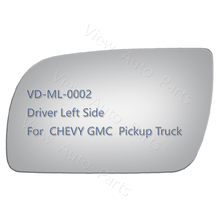 New Mirror Glass for CHEVY GMC TAHOE YUKON Pickup Truck Driver Left Side
