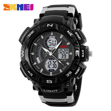 SKMEI Men Digital Wristwatches Outdoor Choice Sport Watch Multifunction Back Light Chronograph 50M Waterproof Watches 1211(China)