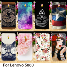 Buy TAOYUNXI Smartphone Cases Lenovo S860 5.3 inch S 860 Case Cute Animals Flowers Hard Back Cover Skin Hood Bag Shell for $1.46 in AliExpress store