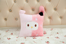 Pink Plush Pillow My Melody Plush Soft Cushion 3 Style To Choose Christmas Gift Single Pillow Couple Pillow