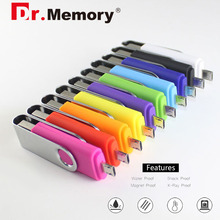 Dr.memory Colorful OTG USB Flash Drive For Android Micro USB Pen Drive metal 16GB USB Stick 64GB OTG memory stick pendrive 8gb