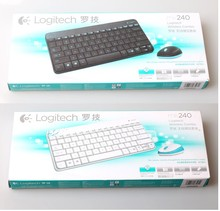 New arrival 100% Original Genuine Logitech MK240 wireless keyboard and mouse computer Combos Mini Keyboard and Mouse
