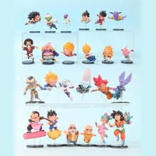 6pcs/set 5-9cm anime Dragon Ball Z Action Figure WCF The Historical Characters Vol.1- Vol.6 dragonball son goku trunks Toys(China)