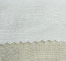 White Beige brown color washed pure 100% ramie fabric 140 cm 55'' width 195 gsm clothing  fabric 10 meters small wholesale