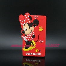 Cute Shy Minnie Mickey Cartoon Soft Cell Phone Back Cover Case for Nokia Lumia 520 N520 525