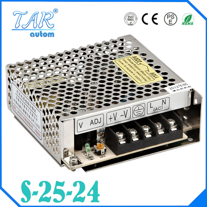 Best quality 24V 1.1A 25W Switching Power Supply Driver for LED Strip AC 100-240V Input to DC 24V free shipping<br><br>Aliexpress
