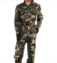 Promotion hot sale men military camouflage suit/sets military style clothing for men jacket and pants m-xxxxl