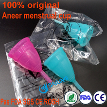 Aneer menstrual cup for women cup menstrual safety worthy of trust in high quality 100% original pass FDA CE and SGS