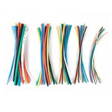 70pcs 7 Colors Heat Shrink Tubing Insulation Shrinkable Tube Sleeving Assortment Polyolefin Ratio 2:1 Wrap Wire Cable Sleeve Kit