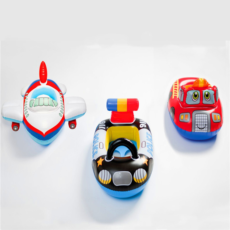 Hot Sale High Quality Inflatable Baby Float Seat Boat Tube Ring Car Portable Water Swim Swimming Pool 3 Model Can be Chosen(China (Mainland))