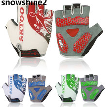 snowshine2 #3001 New Breathable Cycling Bike Bicycle Sports GEL Pad Half Finger Gloves  free shipping wholesale