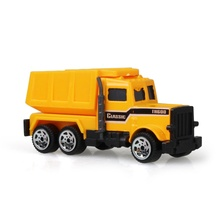 Funny Kids Toys Little Model Cars Engineering Car Dump-car Dump Truck Model Classic Toy Mini Baby Toys(China)