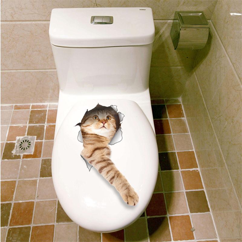 Cat Vivid 3D Smashed Switch Wall Sticker Bathroom Toilet Kicthen Decorative Decals Funny Animals Decor Poster PVC Mural Art Cat Vivid 3D Smashed Switch Wall Sticker Bathroom Toilet Kicthen Decorative Decals Funny Animals Decor Poster PVC Mural Art HTB1nI3kQpXXXXcpXFXXq6xXFXXXL