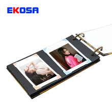 17 Pages Photo Autograph Memoirs Paste Picture notebook Hang Copies for Fujifilm Instax Mini Film 7s 8 25 50s Camera Accessories