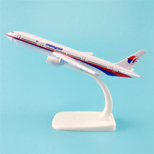 16cm Metal Alloy Plane Model Air Malaysia Airlines Boeing 777 B777 MH17 9M-MRD Airways Airplane Model w Stand Aircraft