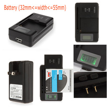 Battery Charger With USB Port US/EU/AU/UK Plug For Nokia 5140i 6020 6021 5200 7360 BL-4C BL-5C BL-6C (BL-5B) 6060 6070 6080 7260(China)