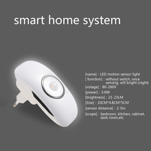 Newest led night light with PIR  AC 80-260V with Led light sensor and PIR motion sensor function led Night Sensor LAMP