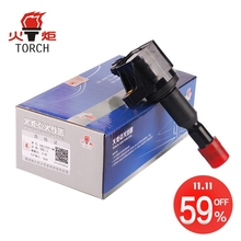 (TORCH) Ignition Coil OEM NO.:30520-PWC-003/30520-PWC-S01/CM11-110/DQG12243 for Honda Fit 2002-2008 1.5L(China)