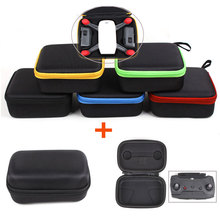 2pcs/lot Waterproof Portable Handheld Bag for DJI Spark Aircraft with EVA Lining + DJI Remote Controller Mini Storage Bag Case(China)