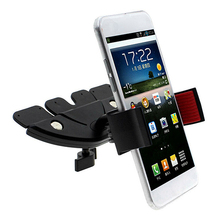 Universal CD Slot Car Mount Holder Stand for iPhone Samsung Smart Phone GPS