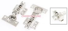 4 Pcs Home Furniture Cabinet Full Overlay Slide on Hinges(China)