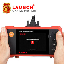 Auto Car Scan Launch CReader Professional 129 Premium OBD2 Code Reader Scanner CRP 129 Electronic Parking Brake (EPB)  Release