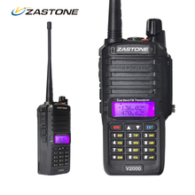 Zastone ZT-V2000 IP67 Waterproof Walkie Talkies Best Dual Band VHF/UHF Handheld Two Way Radio Portable Ham Radio Comunicador