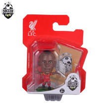 Soccerstarz Hand-painted 5cm Sadio Mane - Home Kit (2017 Version) /Figures Fashion football star doll value for Collection