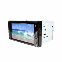 "6.95"" Double Din Car Video Player 2 Din Car DVD LCD Screen Panel Car Audio Player Support FM/GPS/USB/AUX/iPod(China)"